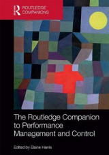 Omslag - The Routledge Companion to Performance Management and Control
