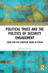 Omslag - Political Trust and the Politics of Security Engagement