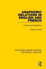 Omslag - Anaphoric Relations in English and French