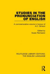 Omslag - Studies in the Pronunciation of English