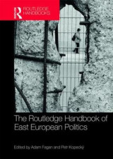 Omslag - The Routledge Handbook of East European Politics