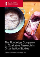 Omslag - The Routledge Companion to Qualitative Research in Organization Studies