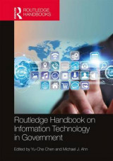 Omslag - Routledge Handbook on Information Technology in Government