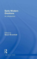 Omslag - Early Modern Emotions