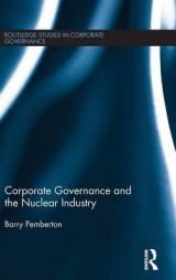 Omslag - Corporate Governance and the Nuclear Industry