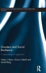 Omslag - Disasters and Social Resilience