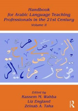 Omslag - Handbook for Arabic Language Teaching Professionals in the 21st Century: Volume II