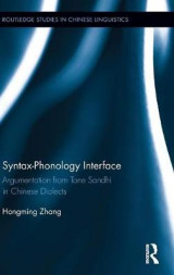 Omslag - Syntax-Phonology Interface