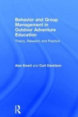 Omslag - Behavior and Group Management in Outdoor Adventure Education