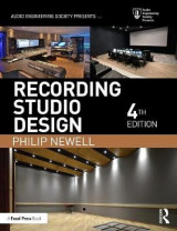 Omslag - Recording Studio Design