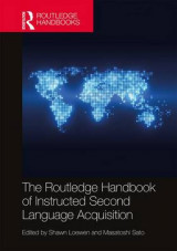 Omslag - The Routledge Handbook of Instructed Second Language Acquisition