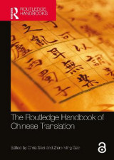 Omslag - The Routledge Handbook of Chinese Translation