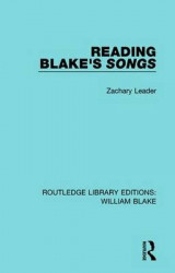 Omslag - Reading Blake's Songs