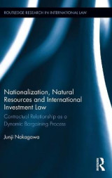 Omslag - Nationalization, Natural Resources and International Investment Law