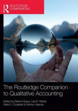 Omslag - The Routledge Companion to Qualitative Accounting Research Methods