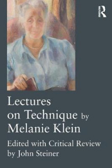 Lectures on Technique by Melanie Klein av Melanie Klein (Heftet)