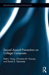 Omslag - Sexual Assault Prevention on College Campuses