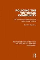 Omslag - Policing the Victorian Community
