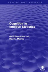 Omslag - Cognition as Intuitive Statistics