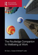Omslag - The Routledge Companion to Wellbeing at Work
