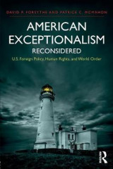 Omslag - American Exceptionalism Reconsidered