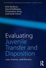 Omslag - Evaluating Juvenile Transfer and Disposition