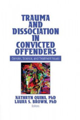 Omslag - Trauma and Dissociation in Convicted Offenders