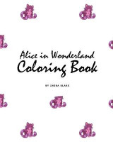 Omslag - Alice in Wonderland Coloring Book for Children (8x10 Coloring Book / Activity Book)