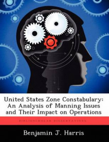 United States Zone Constabulary av Benjamin J Harris (Heftet)