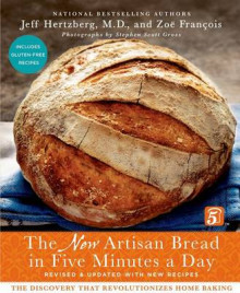 The New Artisan Bread in Five Minutes a Day av Jeff Hertzberg og Zoe Francois (Innbundet)