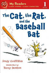 Omslag - The Cat, the Rat, and the Baseball Bat