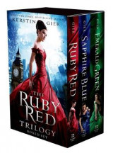Omslag - The Ruby Red Trilogy Boxed Set