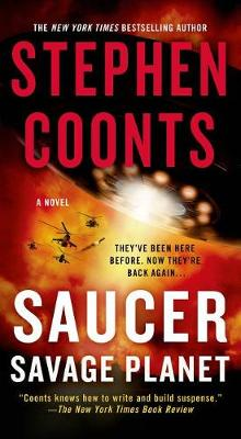 Saucer: Savage Planet av Stephen Coonts (Heftet)