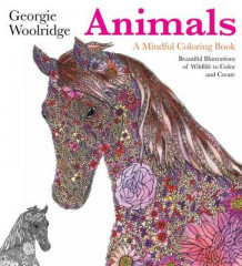 Animals: A Mindful Coloring Book av Georgie Woolridge (Heftet)