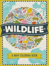 Omslag - Wildlife: A Map Coloring Book