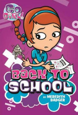 Omslag - Go Girl #10: Back to School