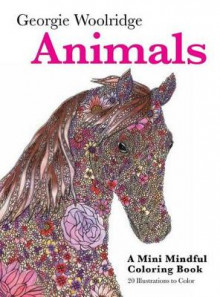 Animals: A Mini Mindful Coloring Book av Georgie Woolridge (Heftet)