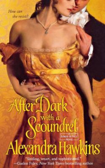 After Dark with a Scoundrel av Alexandra Hawkins (Heftet)