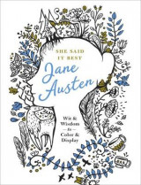 Omslag - She Said it Best: Jane Austen