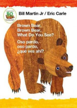 Omslag - Brown Bear, Brown Bear, What Do You See? / Oso Pardo, Oso Pardo, Que Ves Ahi? (Bilingual Board Book - Spanish Edition)