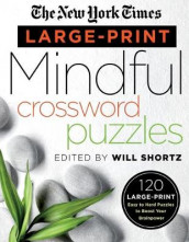 The New York Times Large-Print Mindful Crossword Puzzles av The New York Times (Heftet)