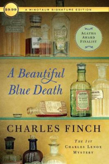A Beautiful Blue Death av Charles Finch (Heftet)