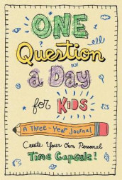 One Question a Day for Kids: A Three-Year Journal av Aimee Chase (Innbundet)