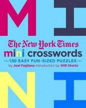 The New York Times Mini Crosswords av Joel Fagliano og The New York Times (Heftet)