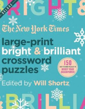 The New York Times Large-Print Bright & Brilliant Crossword Puzzles av The New York Times (Heftet)
