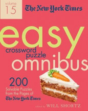 The New York Times Easy Crossword Puzzle Omnibus Volume 15 av The New York Times (Heftet)