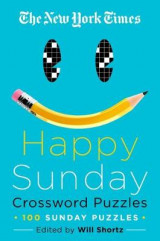 Omslag - The New York Times Happy Sunday Crossword Puzzles