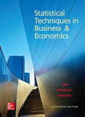 Loose Leaf Statistical Techniques in Business and Economics with Connect Access Card av Douglas A Lind, William G Marchal og Samuel A Wathen (Perm)