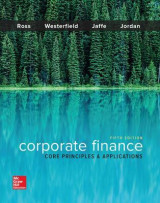 Omslag - Corporate Finance: Core Principles and Applications