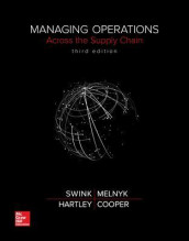 Managing Operations Across the Supply Chain av M. Bixby Cooper, Janet L. Hartley, Steven Melnyk og Morgan Swink (Innbundet)